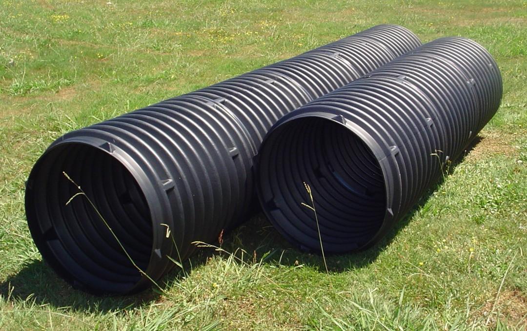 Laylite culvert pipe drainage plastic